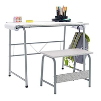 SD Studio Designs Project Center 55128 Craft Table Play Desk with Bench Gray at Amazon.com for $71.42 Online