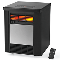 Mainstays 4 Element Infrared Quartz Space 1500W HeaterIndoorBlackDF1911 at Walmart for $37.56 Online