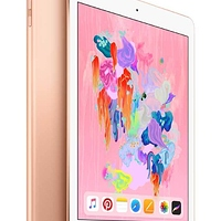 Apple iPad (6th Gen) 32GB Wi-Fi - Gold at Walmart - $184.00 in 7% of stores