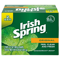 Irish Spring Original Deodorant Bar Soap 3.2 Ounce 2 Bar Pack at Walmart - $0.25 in 48% of stores