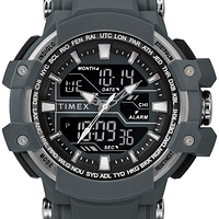 Timex Men's DGTL Tactic Combo Gray/Negative Resin Strap 50mm Watch at Walmart - $9.00 in 14% of stores