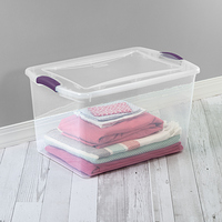 Sterilite 66 Qt./62 L Latch Box Moda Purple at Walmart - $2.00 in 18% of stores