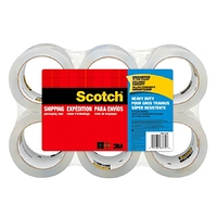 "Scotch® Heavy-Duty Shipping Packing Tape 1-7/8"" x 4-7/10 Yd. Pack Of 6 Rolls at Office Depot - $18.00 in 90% of stores"