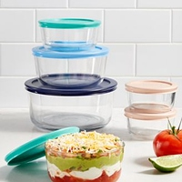 Pyrex 12-Pc. Storage Set at Macy's for $14.99 Online