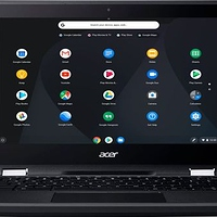 "Acer - Spin 11 2-in-1 11.6"" Touch-Screen Chromebook - Intel Celeron - 4GB Memory - 32GB eMMC Flash Memory - Obsidian Black at Best Buy for $179.00 Online"