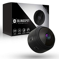 BLINDSPOT Spy Camera Wireless Hidden Home Protection Mini Camera | Portable Security Hidden Camera with 150° Lens, Motion Sensor, Night Vision & HD 1080p Recording WiFi Nanny Cam [2019 Upgraded Model]- $22.70