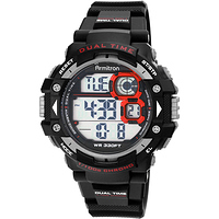 Men's Sport Black Round Watch at Walmart - $13.00 in 21% of stores