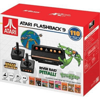 Atari Flashback 9 HDMI Game Consoles 110 Games Wired Joystick Controllers BlackAR3050818858029636 at Walmart - $21.00 in 24% of stores