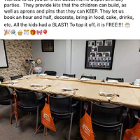 Home Depot Birthday Parties