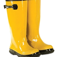 CLC Custom Leathercraft Rain Wear R20008 Yellow Slush Boot, Size 8- $6.11