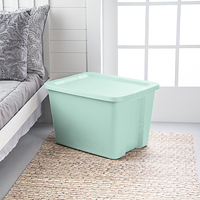 Sterilite 18 Gal./68 L Tote Box Classic Mint at Walmart - $1.50 in 15% of stores