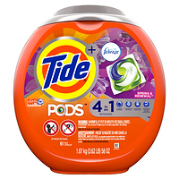 Tide Pods Spring Renewal Laundry Detergent Pacs 61 ct. at Walmart - $9.00 in 8% of stores