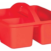 "Teacher Created Resources Plastic Storage Caddy 5-1/4""H x 9-1/4""W x 9""D Assorted Colors at Office Depot - $0.44 in 10% of stores"