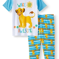 The Lion King Cotton tight fit pajamas 2pc set (baby boys) at Walmart - $1.00 in 11% of stores