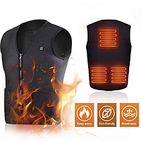 $24.00 - Electric Heated USB-Charging Vest -- BRICKSEEK SPECIAL DEAL