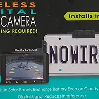 Whistler Wireless Digital Backup Camera at Walmart - $30.00 in 8% of stores